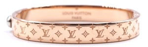 Louis Vuitton RARE Monogram hardware Bangle bracelet cuff size s