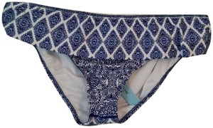 a68ed712f66e5 Antonio Melani Antonio Melani white and blue Bikini bottom swimwear
