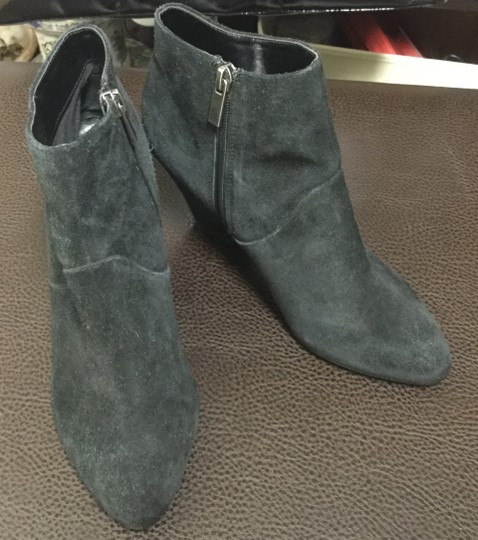 DV by Dolce Vita Suede Western Cuban Ankle Black Boots Image 1