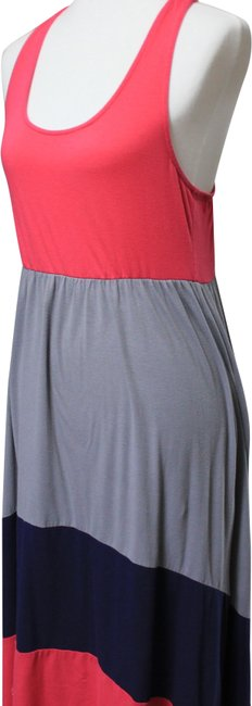 Preload https://img-static.tradesy.com/item/24830592/mossimo-supply-co-red-gray-long-casual-maxi-dress-size-8-m-0-1-650-650.jpg