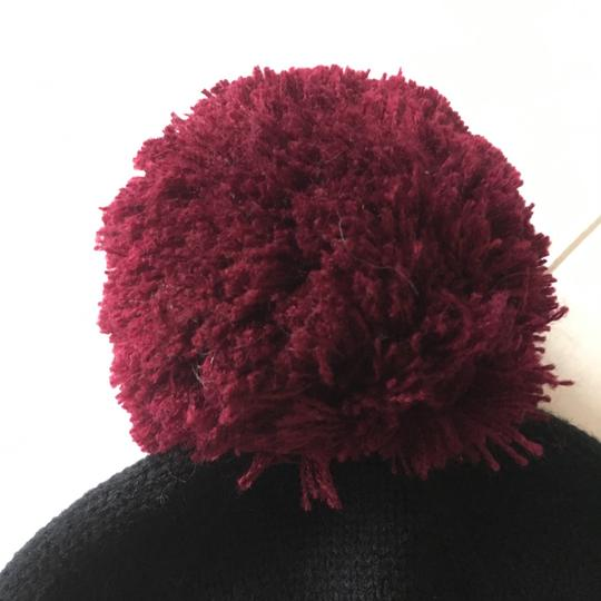Kate Spade Color Block Wine Beanie Image 5