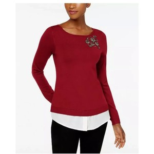 23c9e1894813c Red Charter Club Sweaters   Pullovers - Up to 70% off a Tradesy