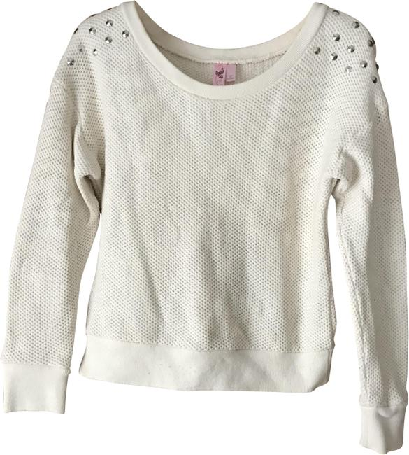 Item - Waffle Weave Off White Sweater