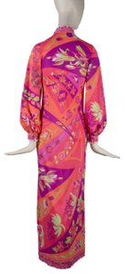 Emilio Pucci Floral Classic Iconic Couture Dress