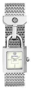 Tory Burch Surrey Stainless Ivory Dial Padlock Charm TBW7101