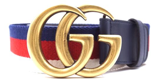 Preload https://img-static.tradesy.com/item/24831529/gucci-27389-blue-white-red-canvas-and-navy-leather-marmont-rare-gg-logo-stripe-gold-buckle-size-70-2-0-1-540-540.jpg
