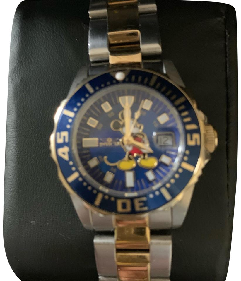 c513360e4e5 Invicta stainless steel and gold ladies limited edition mickey mouse jpg  823x960 Invicta watches limited edition