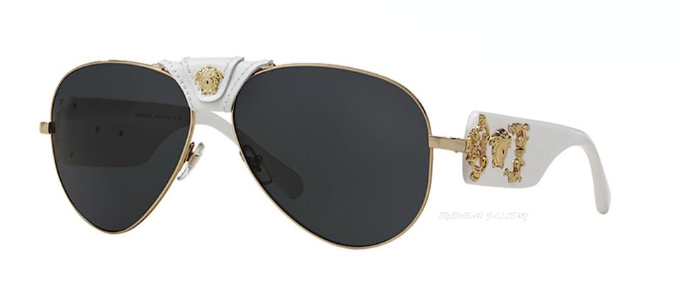 89faf7a4df Versace VE 2150-Q 1341 87 VERSACE Aviator FREE 3 DAY SHIPPING Image 0 ...