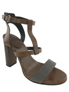 Brunello Cucinelli Brown Sandals