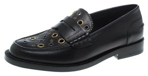 6cd8f7b2b8c Burberry Black Two Tone Brogue Leather Bissett Fringe Detail Lace Up ...