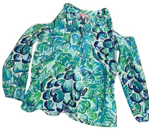 Lilly Pulitzer Top Lazy River