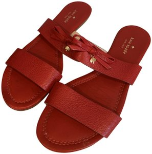 323af37a4d2d Red Kate Spade Sandals - Up to 90% off at Tradesy