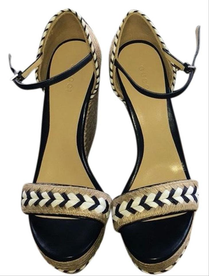 fbcacfb9352d Gucci Tr. Espadrille Wedges Size EU 39 (Approx. US 9) Regular (M