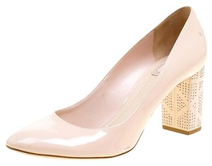 Dior Patent Leather Suede Pink Pumps