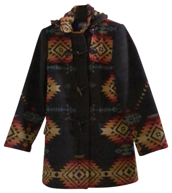 Item - Multi - Gray Red Yellow Blue Tillamook Toggle Coat Size 6 (S)