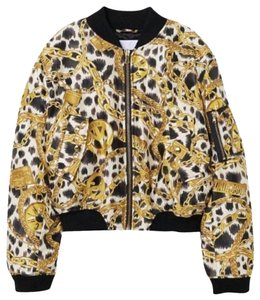 MOSCHINO [tv] H&M black and gold Jacket