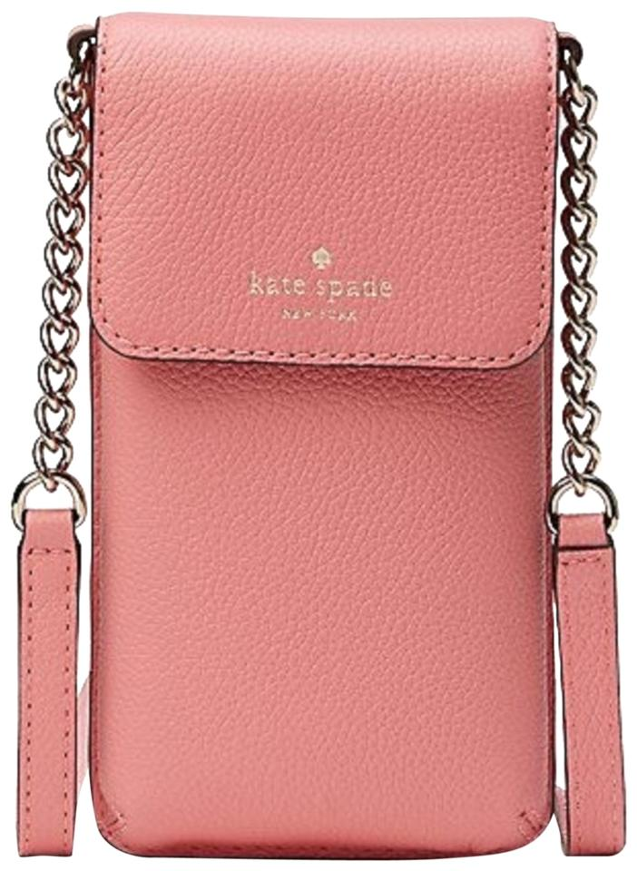 on sale f760a 3ecee Kate Spade Phone Wallet Leather Cross Body Bag