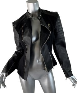 3.1 Phillip Lim black Leather Jacket