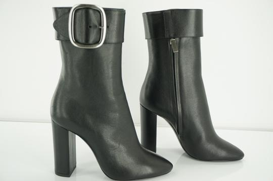 0f08226590 Saint Laurent Black Leather Joplin Tall Buckle Pointed Toe Ankle  Boots/Booties Size EU 36 (Approx. US 6) Regular (M, B) 60% off retail