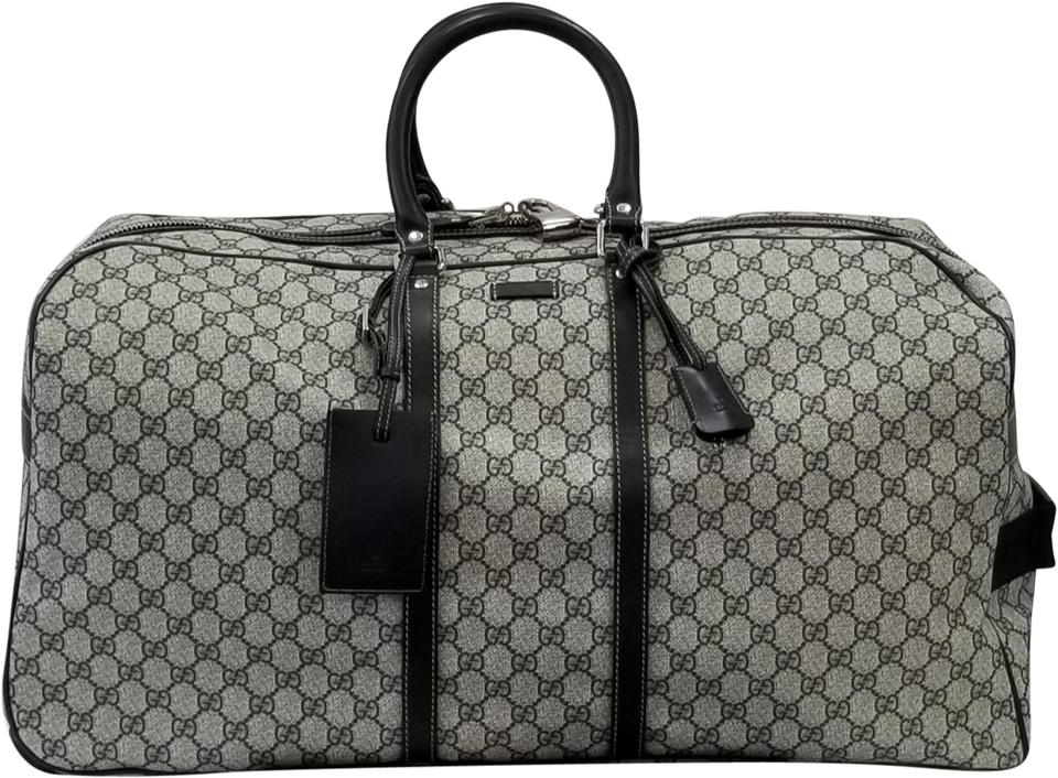 9ab2671f246b Gucci Duffle Supreme Rolling Suitcase Blue Canvas Weekend/Travel Bag ...