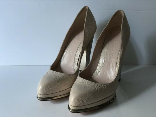 Alexander McQueen light ivory Pumps Image 8
