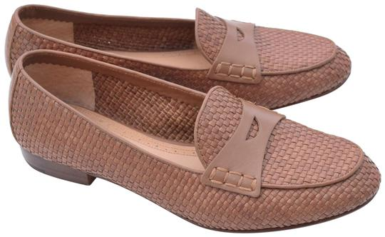 Preload https://img-static.tradesy.com/item/24833940/brooks-brothers-tan-woven-leather-flats-size-us-9-regular-m-b-0-1-540-540.jpg