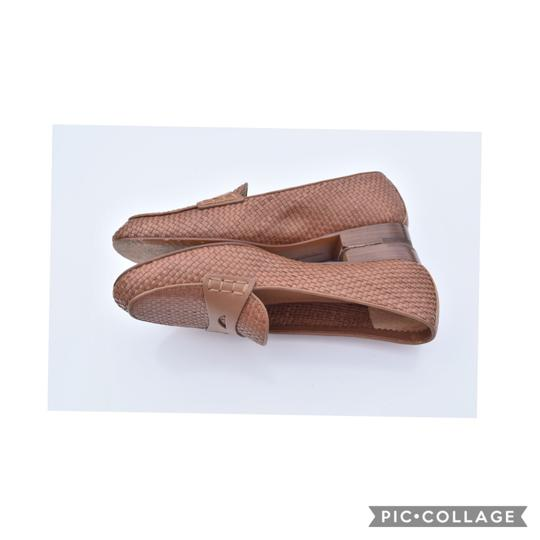 Brooks Brothers tan Flats Image 2