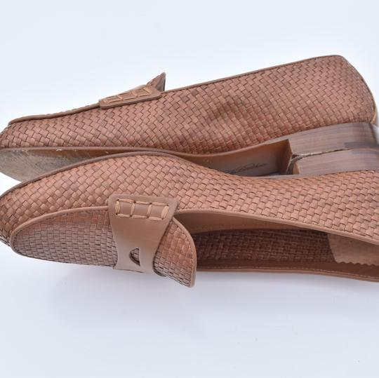 Brooks Brothers tan Flats Image 9