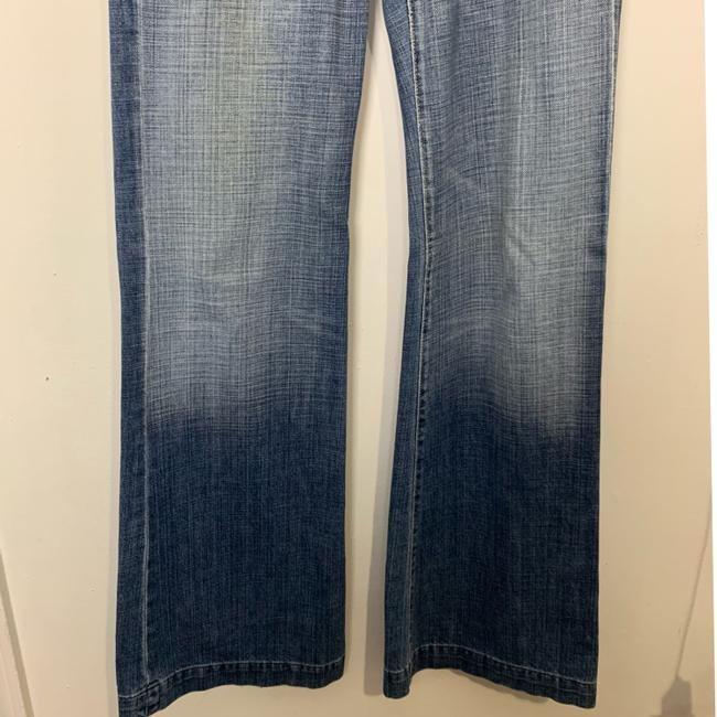 7 For All Mankind Trouser/Wide Leg Jeans-Light Wash Image 2