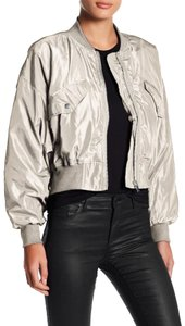 Romeo & Juliet Couture Bomber Cropped Blouson Military Jacket
