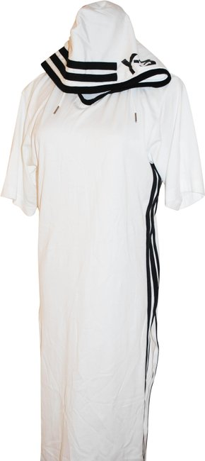 white Maxi Dress by Y-3 Long Image 0