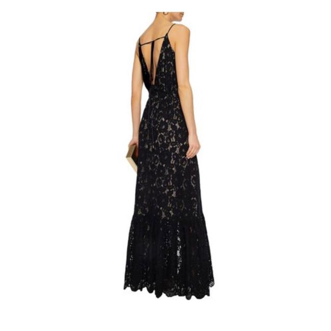 Preload https://img-static.tradesy.com/item/24834452/lanvin-black-button-detailed-corded-lace-gown-long-cocktail-dress-size-4-s-0-0-650-650.jpg