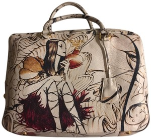 552babe91a Prada Satchel in Fairy hand painted exterior.