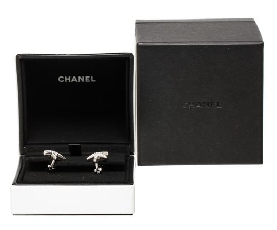 Chanel Chanel 18k White Gold and Diamond Comete Medium Size Earrings 488455 Image 5