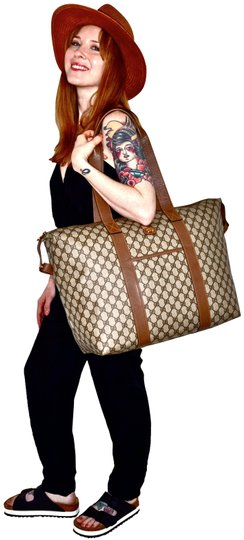 Preload https://img-static.tradesy.com/item/24834984/gucci-monogram-225-inch-carry-on-duffle-style-tote-brown-supreme-gg-weekendtravel-bag-0-10-540-540.jpg