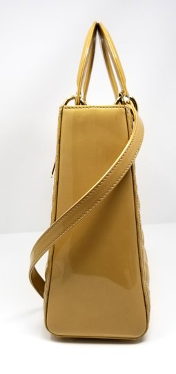Dior Lady Large Purse Christian Tote in Yellow Image 5
