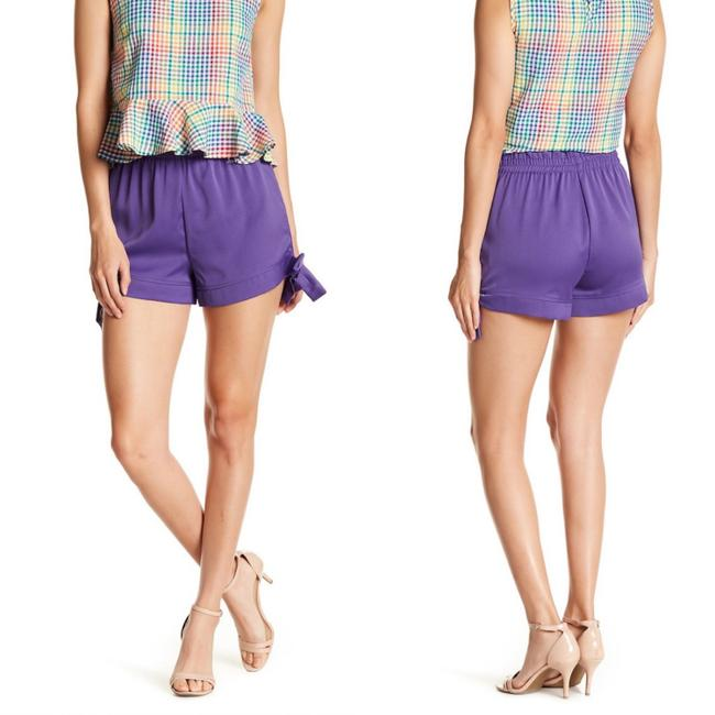 Preload https://img-static.tradesy.com/item/24835282/romeo-and-juliet-couture-violet-tie-accent-ruffle-waist-shorts-size-12-l-32-33-0-0-650-650.jpg