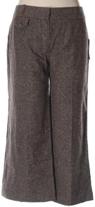 A. Byer Capris Brown Tweed