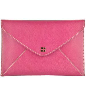 Kate Spade Envelope Nikolette Tarrytown Leather Burgundy Clutch