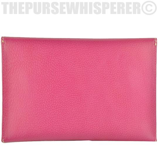 Kate Spade Envelope Nikolette Tarrytown Leather Burgundy Clutch Image 6