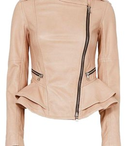 Marissa Webb Pink Leather Jacket