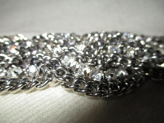 Other braided wide chain with rhinestones Image 10