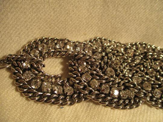Other braided wide chain with rhinestones Image 11