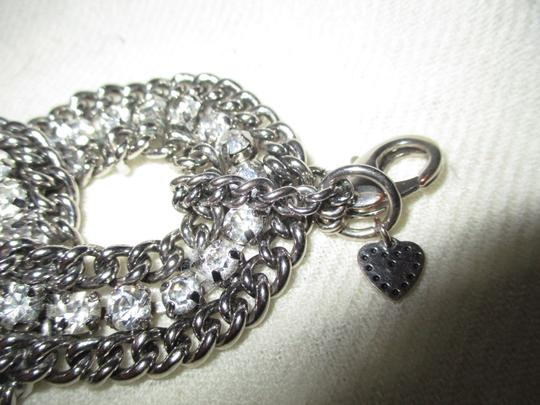 Other braided wide chain with rhinestones Image 2