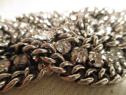 Other braided wide chain with rhinestones Image 7