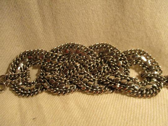 Other braided wide chain with rhinestones Image 9