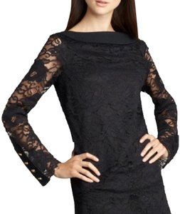 Tory Burch Top Black with Gold Hardware