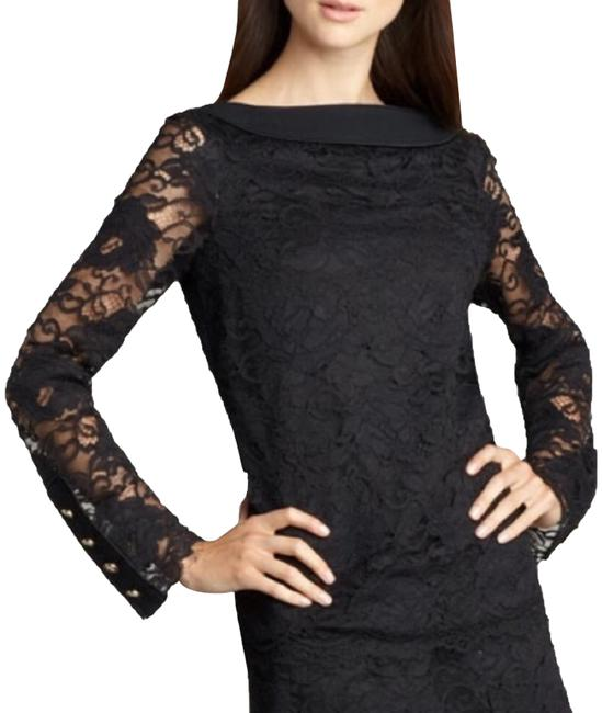 Preload https://img-static.tradesy.com/item/24835945/tory-burch-black-with-gold-hardware-blouse-size-0-xs-0-1-650-650.jpg