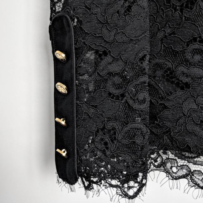 Tory Burch Top Black with Gold Hardware Image 2