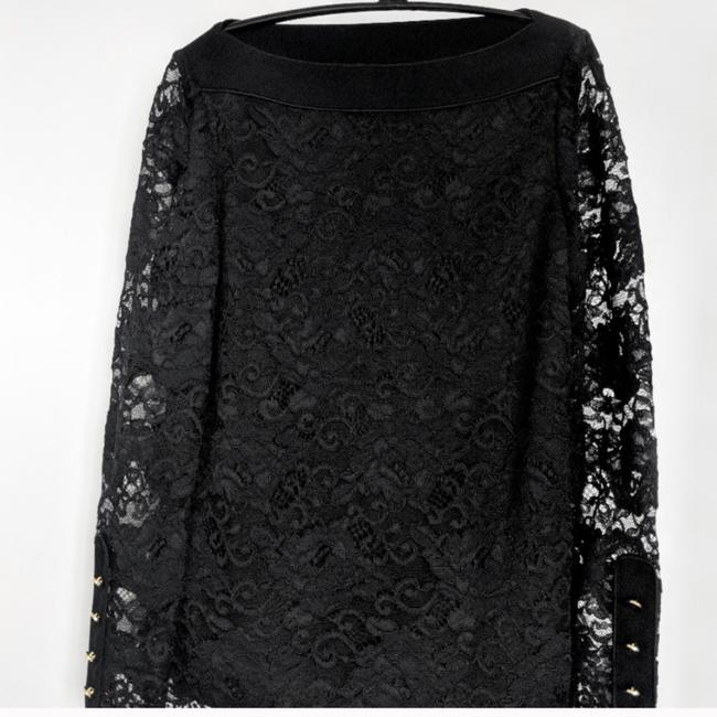 Tory Burch Top Black with Gold Hardware Image 4